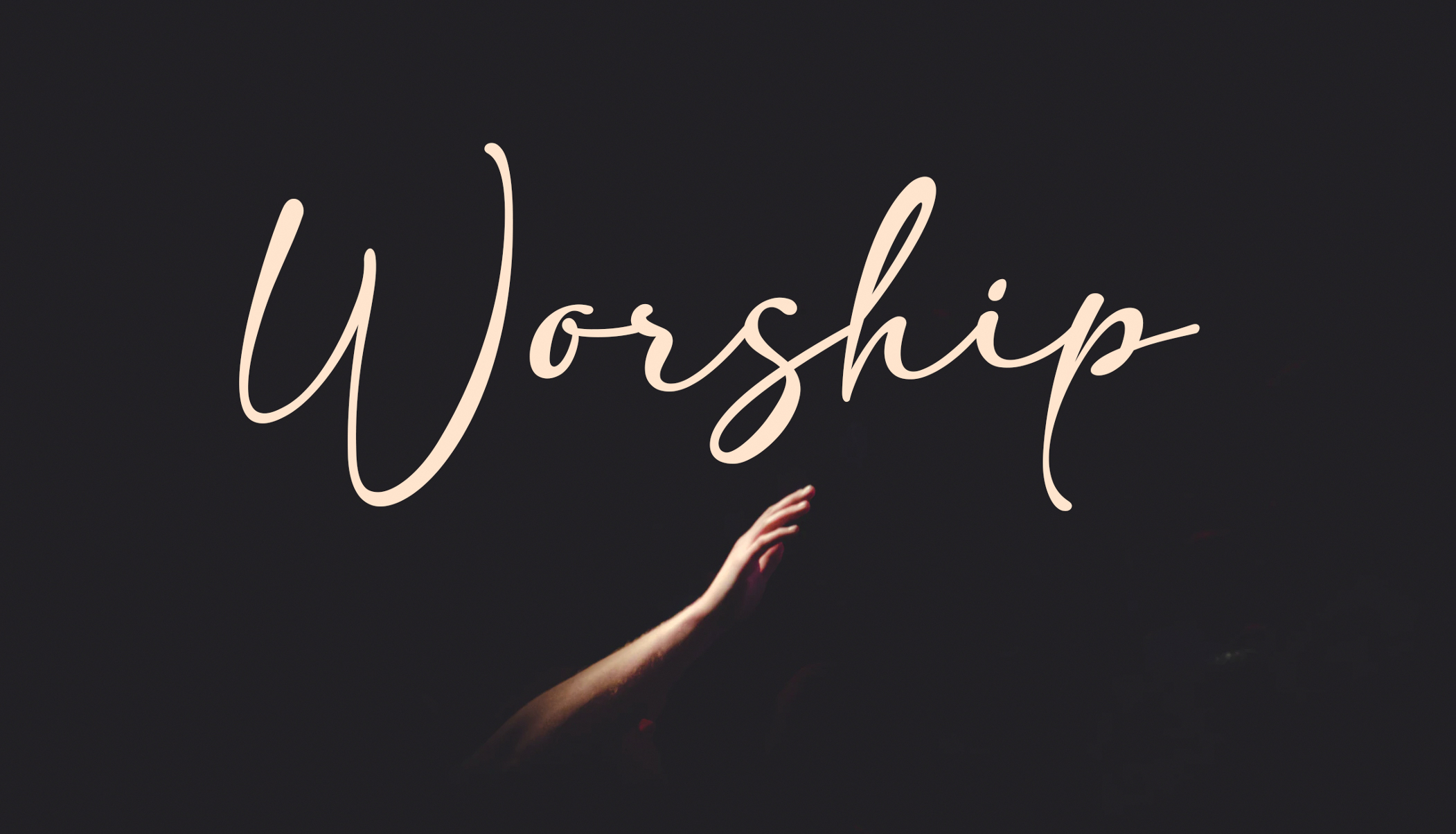 Worship 1 – The Definition of Worship
